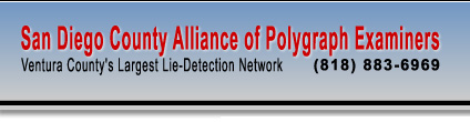 San Diego County Alliance of Polygraph Examiners - San Diego County's Largest Lie Detection Network